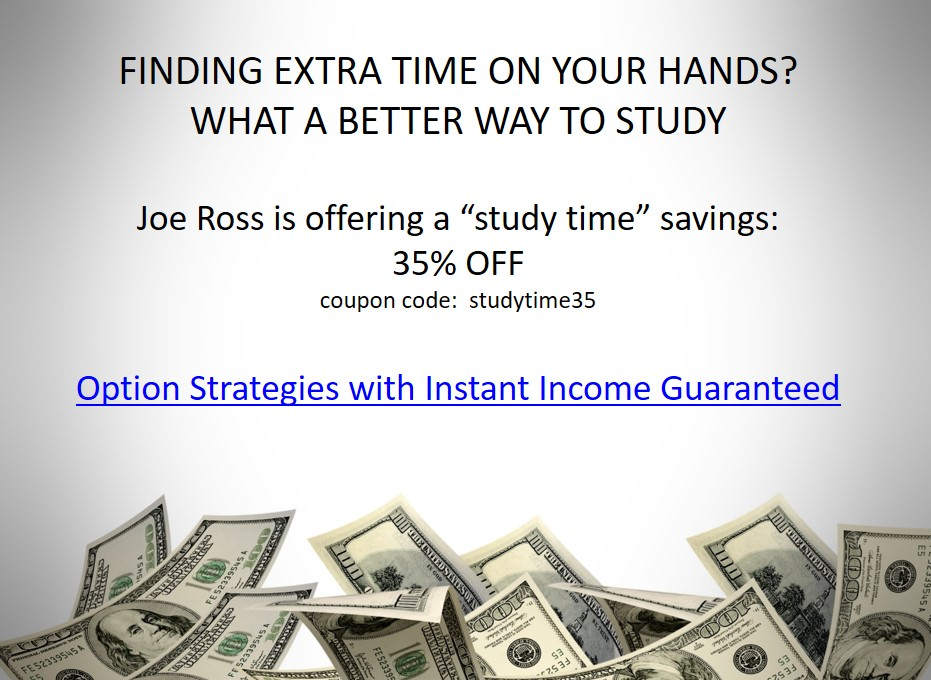 Joe Ross is offering 35% off Instant Income Guaranteed program