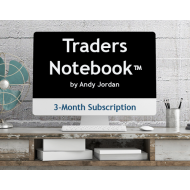 3-Month Traders Notebook Subscription